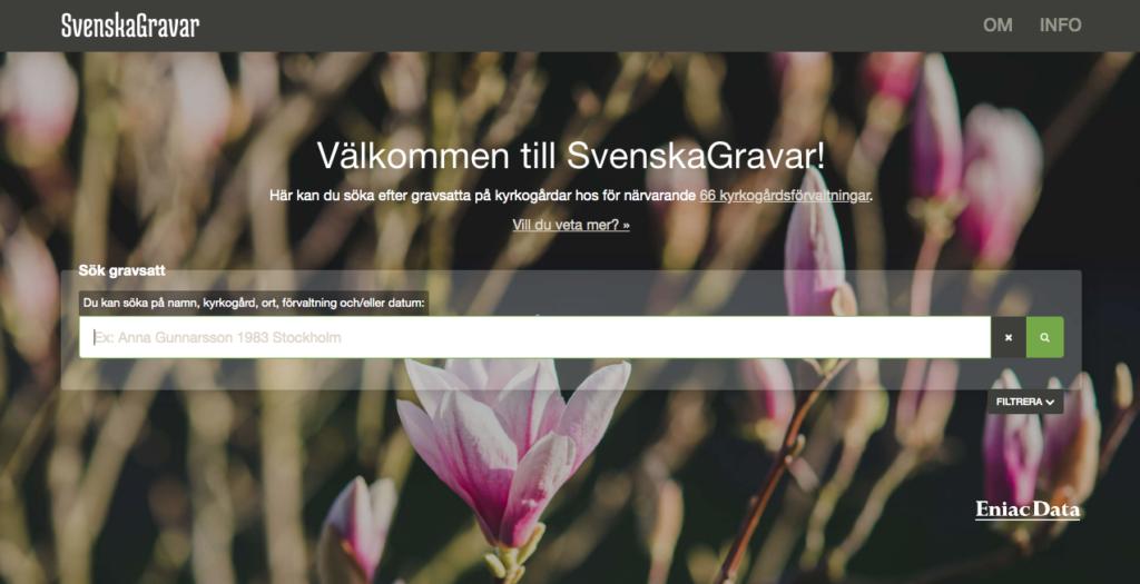 Hitta Svenska gravar